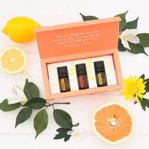 NWT doTERRA Citrus Trio Set with + FREEbie